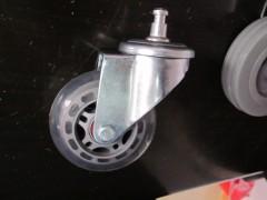 3寸插杆透明轮