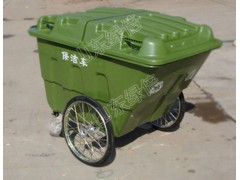手推式塑料垃圾车直销价格,环卫清洁机械销售