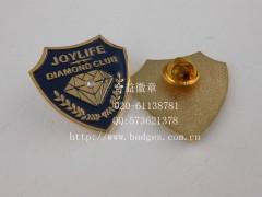 钻石徽章、镶钻徽章、公司标致徽