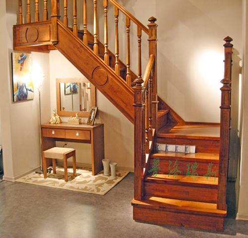 家用实木楼梯选择【普洛瑞斯】