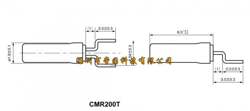 西铁城晶振,进口晶振cmr200t,贴片晶振