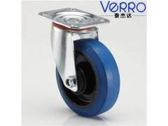 5寸平板活动橡胶万向轮