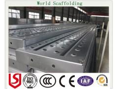 营口镀锌钢跳板,3米钢制跳板,挂钩钢踏板,防腐冲孔脚手板厂家