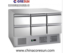 风冷带抽屉保鲜冷藏沙拉台|S903 6D