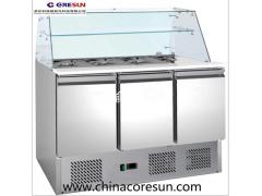 科瑞森不锈钢冷藏保鲜沙拉台|S903 SQ