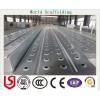 兰州钢跳板厂家直供3米冲孔钢跳板,挂钩钢踏板,防腐钢架板
