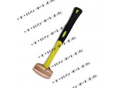 防爆圆鼓锤,东光黄铜手锤,纯铜