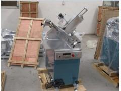 快速切羊肉卷的机器 全自动羊肉成卷机 冻羊肉自动切卷机