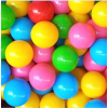 定做加厚环保无毒无味儿童彩色球波波球 袋装玩具塑料室内海洋球