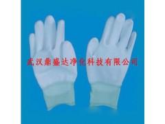 全新材料制造PU尼龙涂掌涂指无尘手套武汉有售