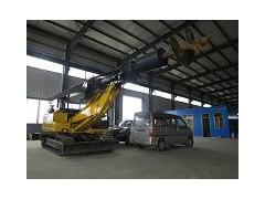 楼房地基打桩机履带式打桩机 小型旋挖钻机电力施工