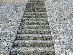 生态防护坡角  石笼网