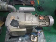 贝克无油真空泵VTLF250维修 木工雕刻卡死烧电机