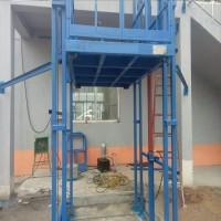 导轨式液压升降机固定升降平台货物提升游丝导轨杂物电梯厂家