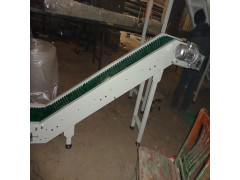 快递分拣流水线装卸货小型皮带输送机注塑传送带爬坡机