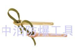 供应优质安全工具 桥防牌129B防爆皮带扳手