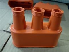 双孔前舱线束后保杠线束左右前门线束电机控制器线束橡胶双孔护线