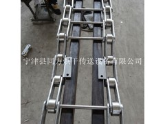 同方供应304不锈钢穿杆链 弯板支杆网带