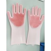 硅胶手套可定制各种颜色洗碗洗菜洗澡 抖音同款