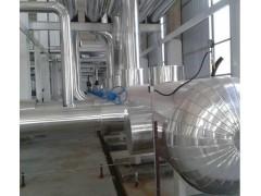 蒸压釜白铁皮保温工程管道防腐保温施工