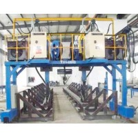H型钢焊接生产线  龙门自动排焊机 高效多功能排焊机