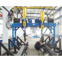 轻钢结构生产线  H型钢结构生产线设备  H T型钢焊接机
