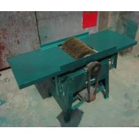 建筑钢模板除锈机 电动300模板清渣机 钢丝刷模板清理机