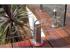 不锈钢落地玻璃夹全实心游泳池精品拉丝固定夹护栏玻璃配件