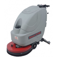 西安停车场手推式洗地机,厂房洗地机