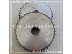 定制双排链轮齿轮 不锈钢链轮 机械传动链轮
