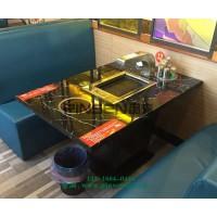 火锅店餐桌椅 深圳火锅烧烤餐桌椅组合 餐厅家具定制