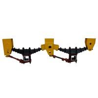 厂家直销钢板悬挂 串接式钢板平衡悬架 梁山厂家