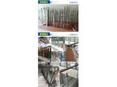 玻璃楼梯扶手\楼梯护栏栏杆\不锈钢立柱\阳台立柱