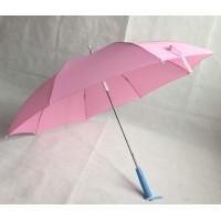 儿童雨伞 晴雨遮阳伞 手开白色玻纤骨伞尾发光LED伞