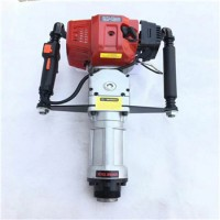 批发零售 便携式汽油打桩机 高效率打桩锤 手提式钻桩器 现货