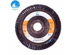 厂家直销不锈钢抛光百叶轮 煅烧网盖砂布轮百叶片100*16