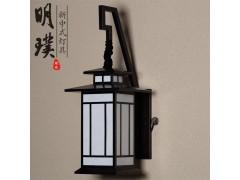 新中式壁灯 布艺新中式壁灯 书房新中式壁灯