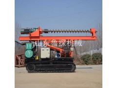 6米长螺旋钻孔机 履带式多功能打桩机全液压长螺旋钻机