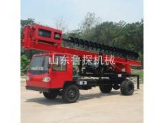 双排座螺旋打桩机高效定位液压打桩机高性能寿命长