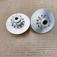镇江联轴器厂制造WGP型制动盘鼓形齿式联轴器型号图纸