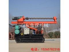 供应鲁探LXD-8型履带式长螺旋打桩机高性能CGF灌注打桩机