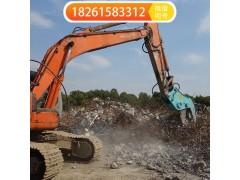 挖机液压粉碎钳拆迁混凝土利器