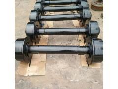 實心礦車輪對 鑄鐵鑄鋼輪對
