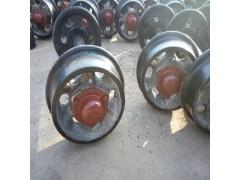 礦車輪600MM軌距礦車輪對 固定式礦車輪對