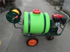 手推式汽油打药机 喷药机 柱塞泵四轮打药车园林植保 养殖消毒