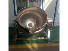 诸城神州直销不锈钢蒸汽式夹层锅  多功能倾斜式卤煮锅