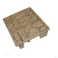 纸浆模塑 普通切边纸托 纸浆塑模制品 纸浆模塑包装纸托