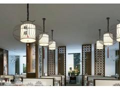 新中式禅意大吊灯仿古餐厅灯具
