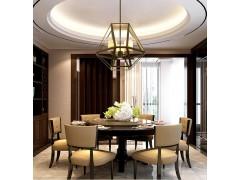 灯具客厅现代简约吊灯个性新中式