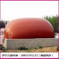 湖北家用農村沼氣儲存浮罩軟體沼氣池 儲氣袋厚度及安裝示意圖